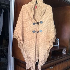 Jackets & Blazers - Never Worn Knit Poncho